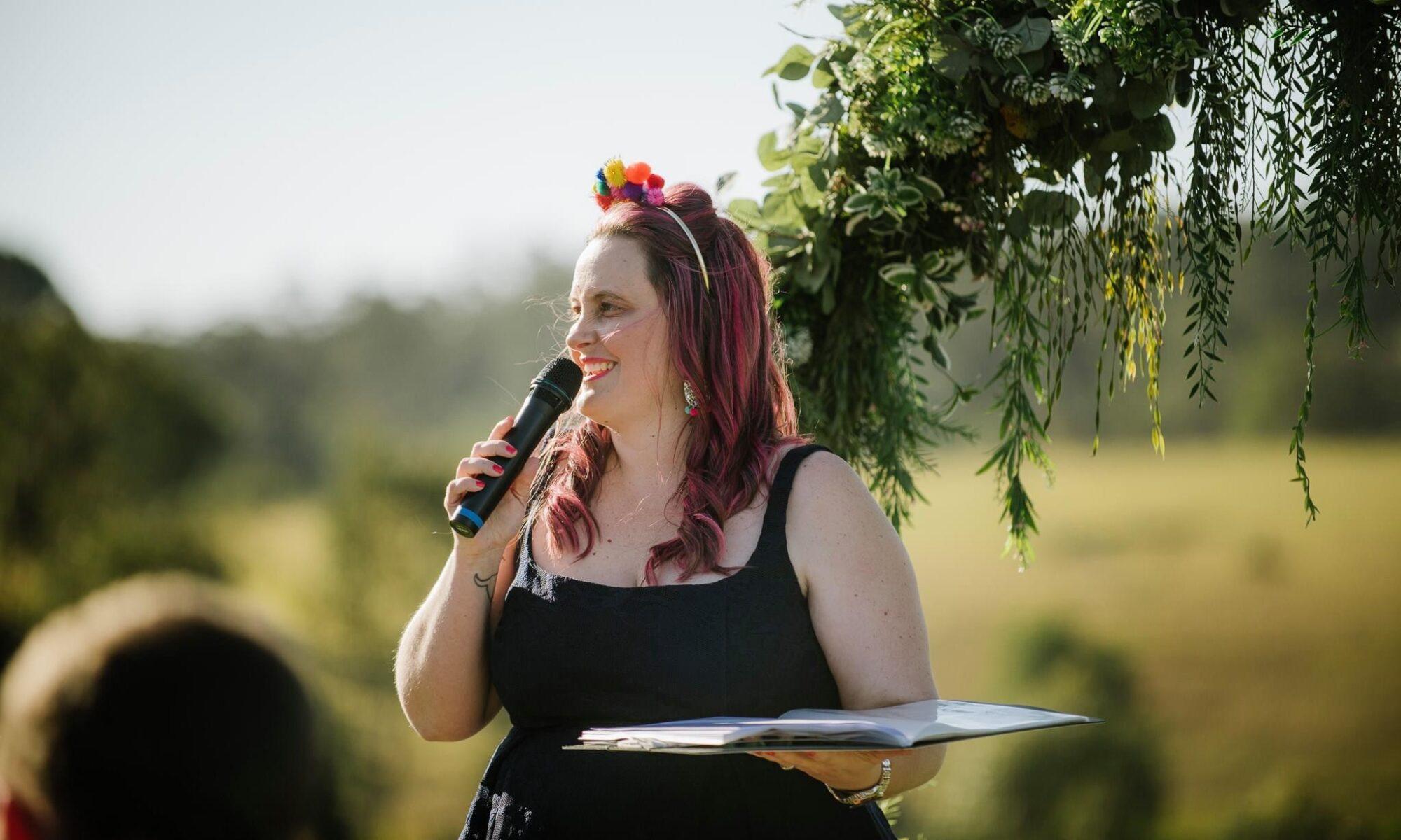 Kate Mackie, Wedding Celebrant